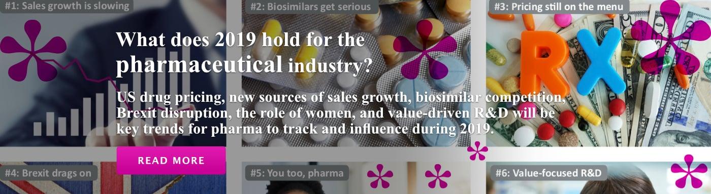 2019 Pharma Trends Banner