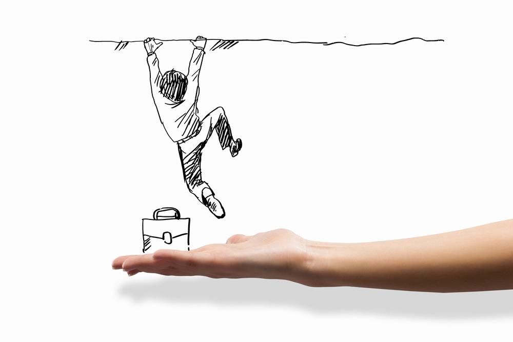 Hand drawing image of businessman. Business challenge.jpeg