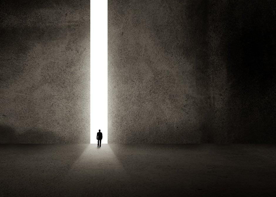 Silhouette of businessman entering giant doorway.jpeg