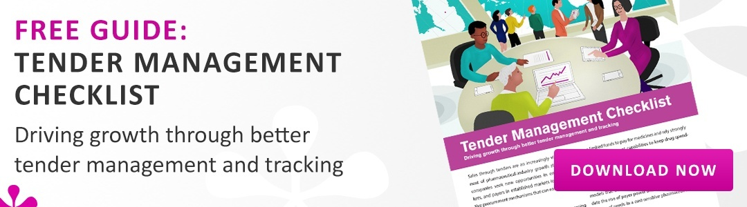 Download your copy of the Tender Management Checklist